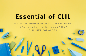 Essentials of CLIL