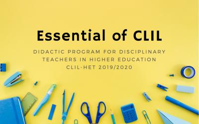 Part 1: Essentials of CLIL