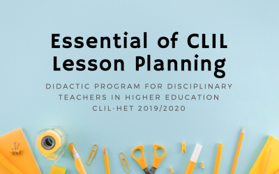Essentials of CLIL lesson planning