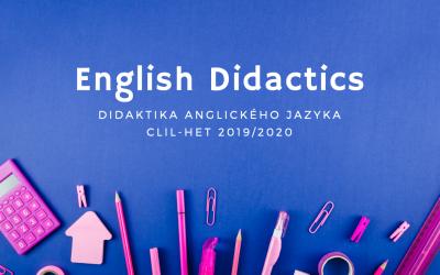 Didaktika anglického jazyka (cz)