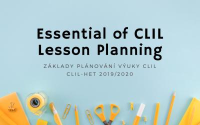 Základy plánovaní výuky CLIL