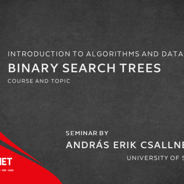 Seminar: Binary search trees  – An exercise