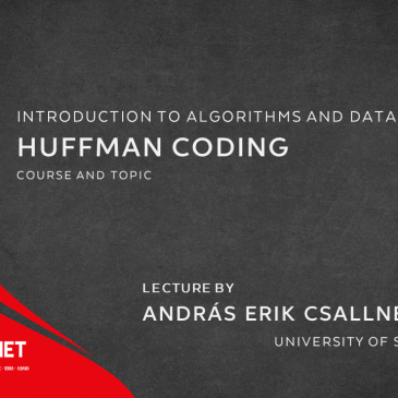 Lecture: Huffman coding