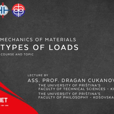 Lecture: Mechanics of Materials: Types of Loads