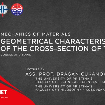 Lecture: Mechanics of Materials: Geometrical Characteristic of the Cross-Section of the Beam