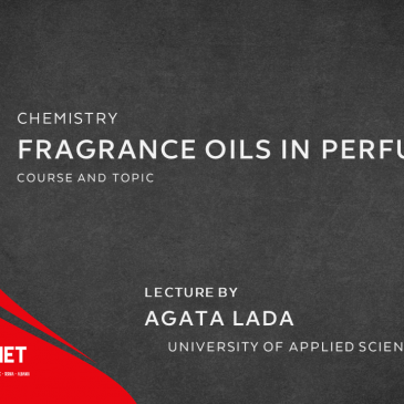 Lecture: Fragrance oils in perfumes