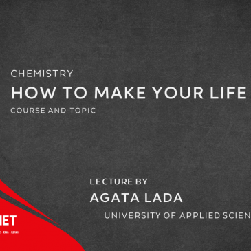 Lecture: How to make your life sweeter – part 3